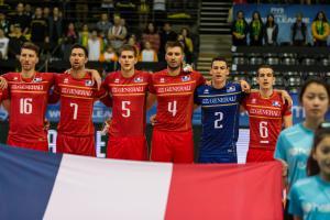 (Miniature)  La Belgique arrache la victoire aux Français en cinq sets