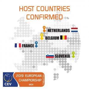 (Miniature) Appel à candidature - sites hôtes de l'Euro Volley 2019